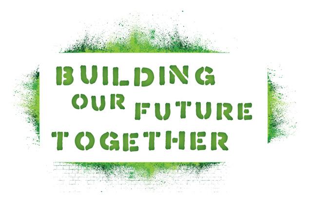 descBuilding Our Future Together logo by Liz Seip Design