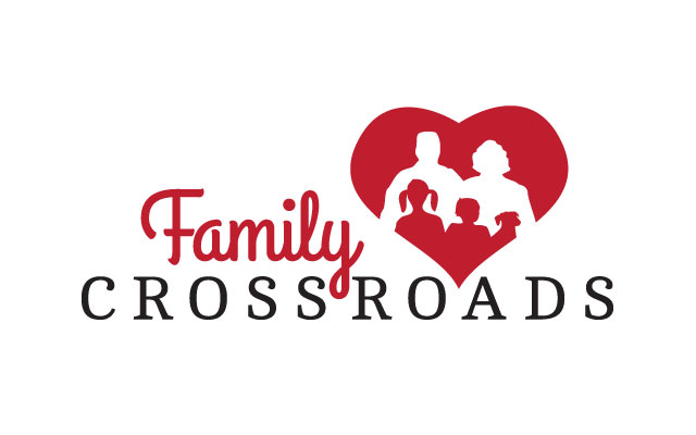 Family Crossroads logo by Liz Seip Design